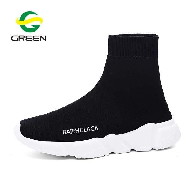 China Greenshoe 2018 New Model High Heel Wedge Sneakers Women .
