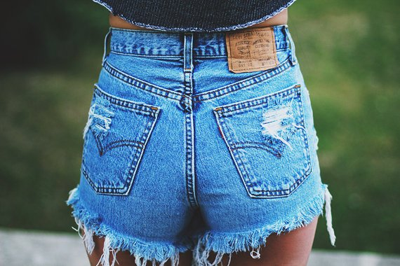 High Waisted Denim Shorts: How to Wear Them, Which Ones to Buy .