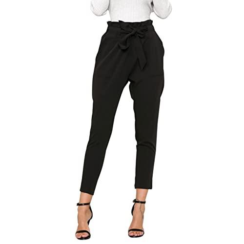 Black High Waist Pants: Amazon.c