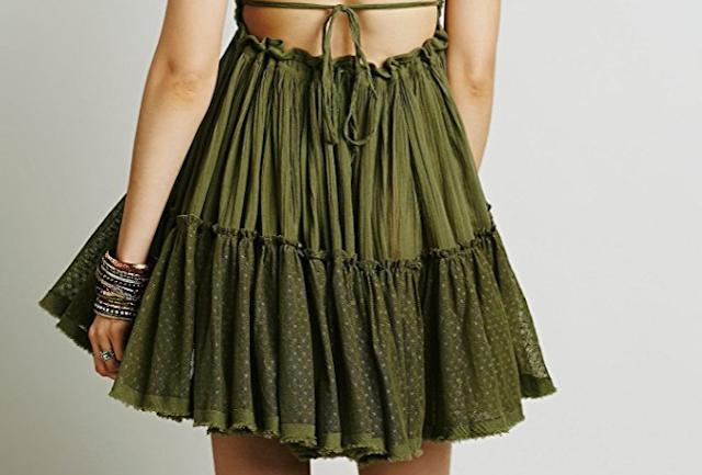 Green Boho/Hippie St. Patrick's Day Dresses Under $25 {St .