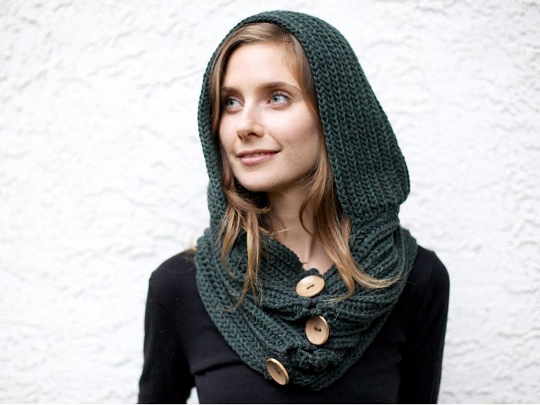 Windy Hooded Scarf by Wild Mantle | The Grommet