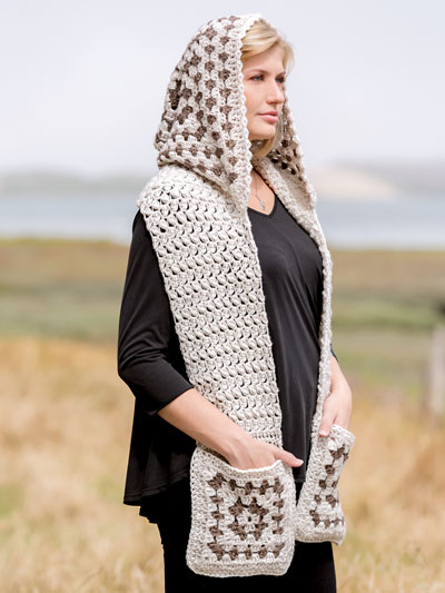 New Crochet Patterns - ANNIE'S SIGNATURE DESIGNS: Bethany Hooded .