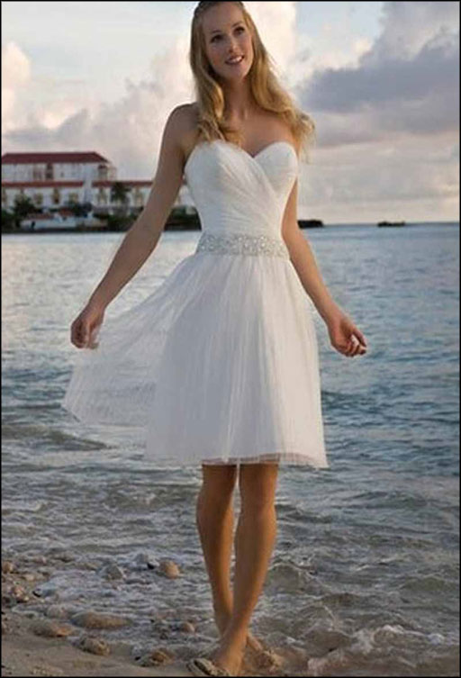 Beach informal wedding dresses: Pictures ideas, Guide to buying .