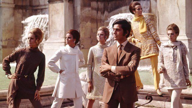 Classic Italian fashion 'influenced by London' - BBC Ne