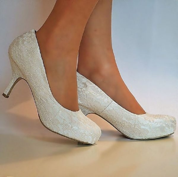 3 Design Ivory Wedding Shoes You Should Have»Interclodesig