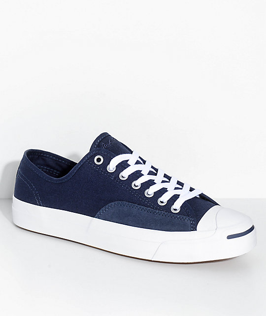 Converse Jack Purcell Pro Obsidian Shoes | Zumi