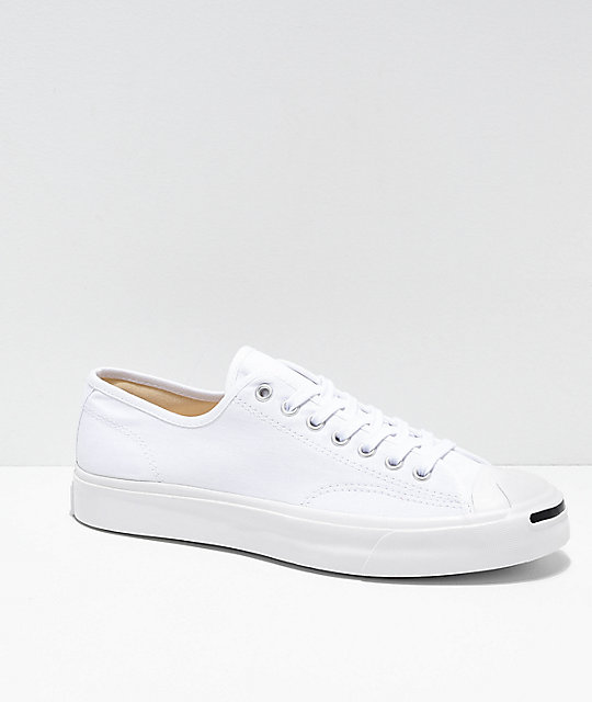 Converse Jack Purcell Pro 1st In Class White Skate Shoes | Zumi
