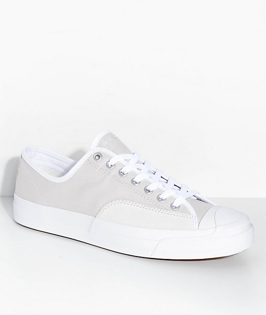 Converse Jack Purcell Pro Off White Shoes | Zumi