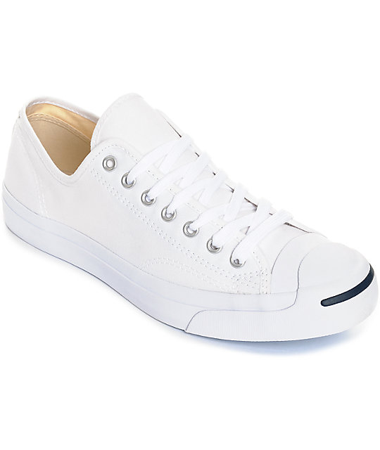Converse Jack Purcell White Shoes | Zumi