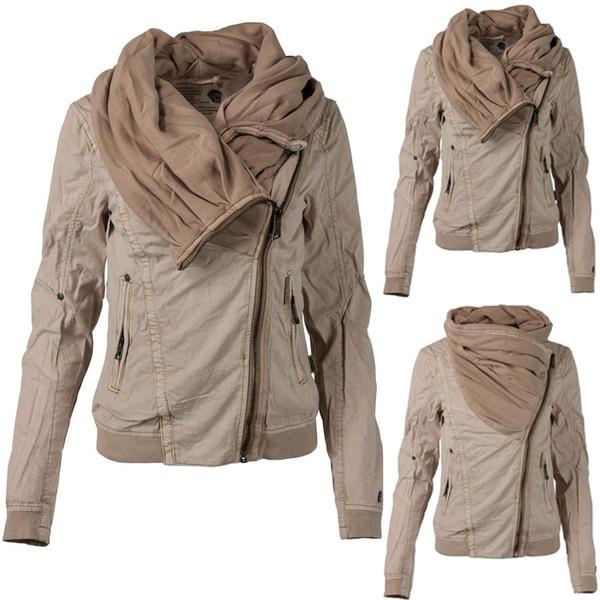2019 Retro Bomber Jackets For Women Ladies Hoodie Sweatshirt Zip .