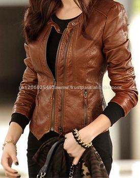 Fashion Jacket For Women New Style /women Fashion Leather Jacket .