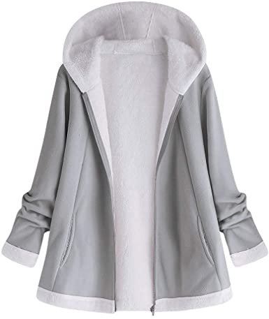 Amazon.com: aihihe Plus Size Coats Jackets for Women Witer Warm .