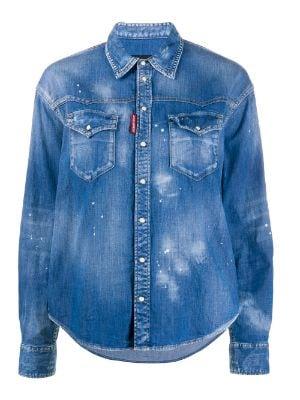 Designer Denim Shirts - Explore New Season Styles - Farfetch.c