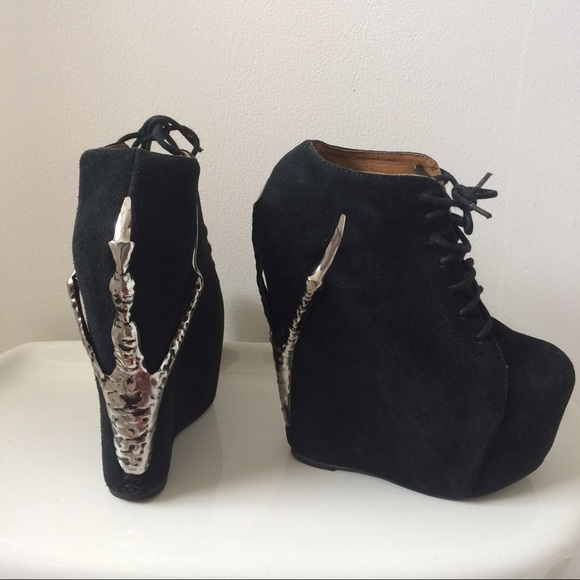 Jeffrey Campbell Shoes | X Lf Store Raven Claw Booties | Poshma