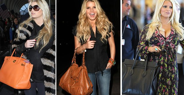 The Many Bags of Jessica Simpson - PurseBl