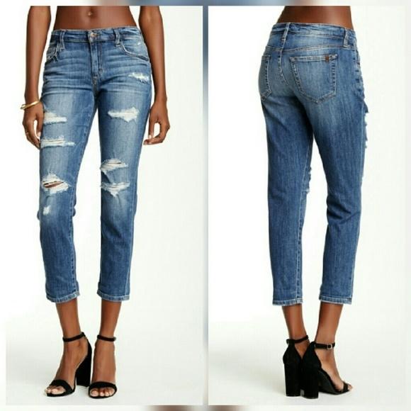 Joe's Jeans Jeans | Joes Slim Crop Boyfriend In Kency Wash | Poshma