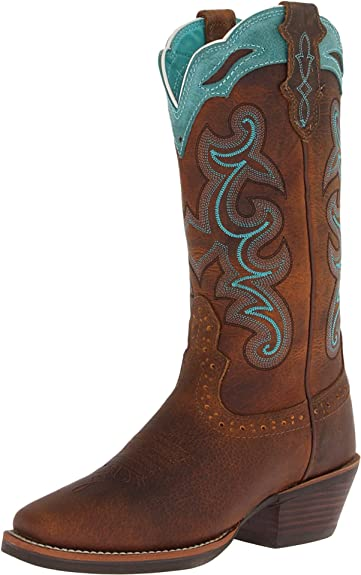 Amazon.com | Justin Boots Women's Stampede Sliver Collection .