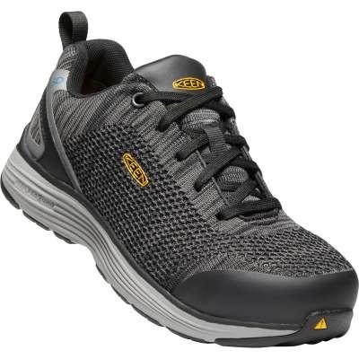 Keen Shoes: Women's 1021350 Black ESD Aluminum Toe Athletic .