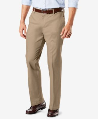 Dockers Men's Signature Lux Cotton Classic Fit Creased Stretch .