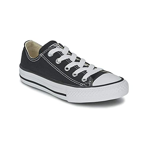 Amazon.com | Converse All Star Low Black/White Kids/Youth Shoes .
