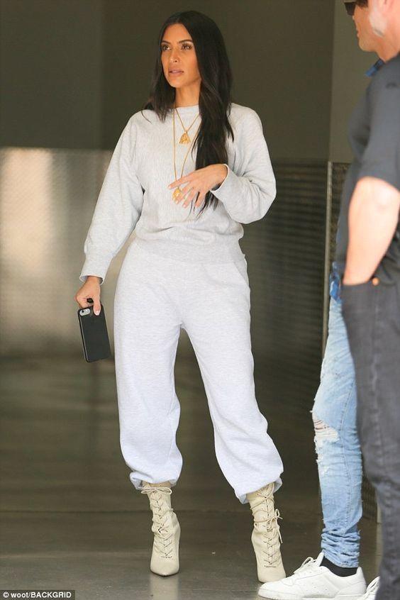 Celebrity Style: Kim Kardashian Street Styles Glamsugar.com Casual .