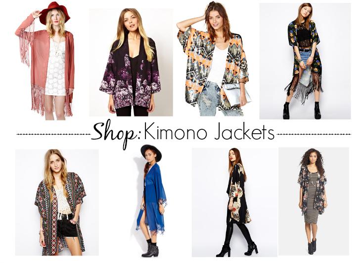 Spring Style Inspiration // The Kimono Jacket | Kinks are the new Pi