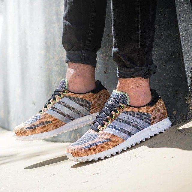 adidas Originals LA Trainer Weave   Adidas, Nice shoes, Me too sho