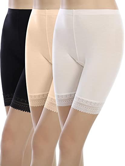 Sumind Boyshort Panties Women Lace Shorts Lace Brief Shorts Ultra .