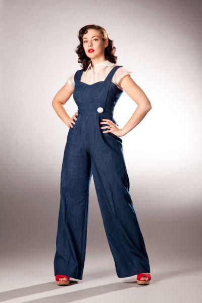 Inspiration : World War 2 Ladies Jumpsuits | 1940s fashion .