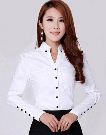 10 Best Formal Shirts for Women With Latest Designs | White shirts .