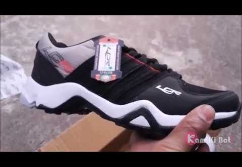 Lancer Men's Black & Red Lace-up Running Shoes Review - YouTu