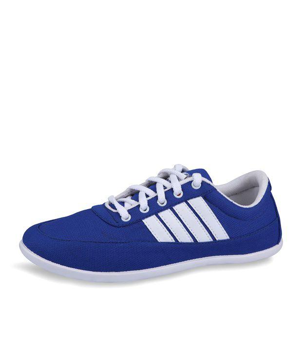 Lancer Blue Canvas Shoes - Buy Lancer Blue Canvas Shoes Online at .