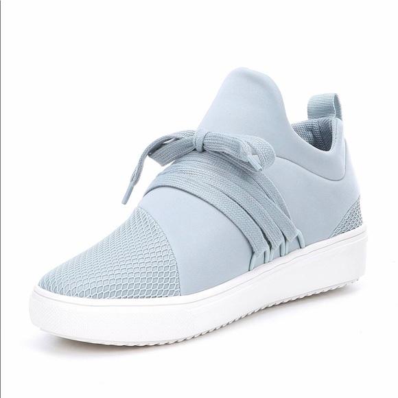 Steve Madden Shoes | Lancer Sneakers Light Blue | Poshma