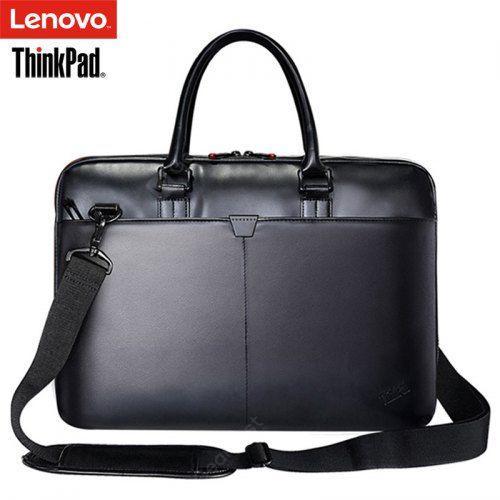 Lenovo ThinkPad T300 Laptop Bag Leather Shoulder Bags Men and .