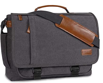 Amazon.com: Messenger Bag Mens Satchel Bag,BERTASCHE Canvas Laptop .