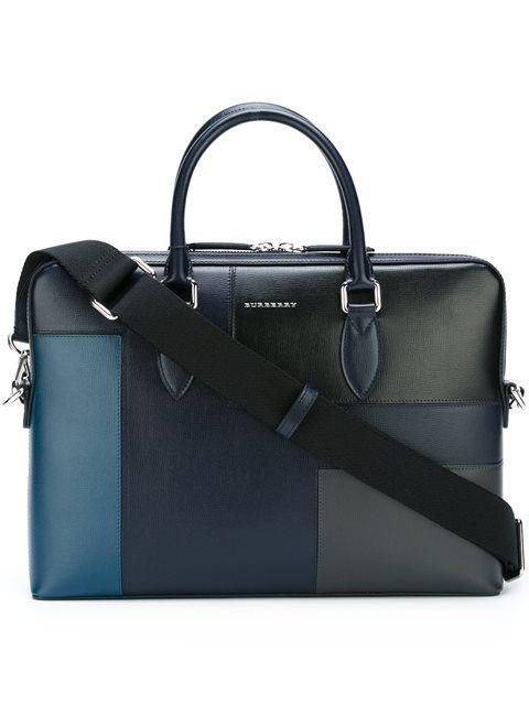Burberry patchwork laptop bag | Bags, Designer laptop bag .