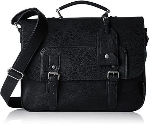 Amazon.com: Aldo Mens Norman Laptop Bag Black (Black): Sho
