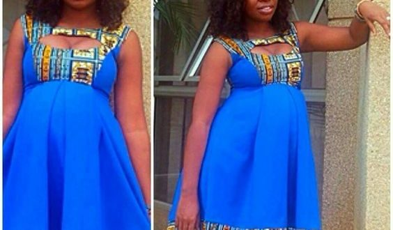 Latest African Ankara Maternity Gowns & Dress Styles for Pregnant .