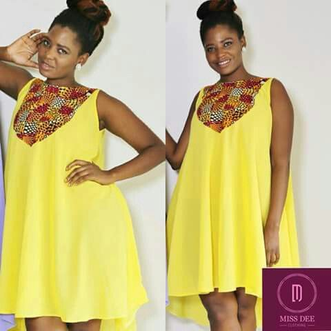 Cute Maternity Dress … | African clothing, African fashion anka