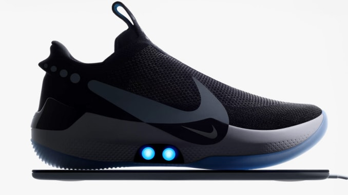 You can lace Nike's Adapt BB shoes with a smartphone a