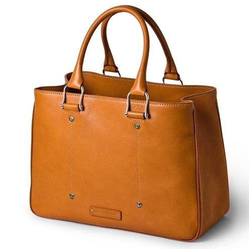 Leather Business Work Bag for Women Made in Florence - Toscanel