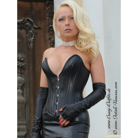 Leather corset DS-222 : Crazy-Outfits - webshop for leather .