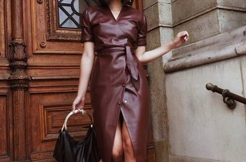 Best Leather Dresses: 15 Looks We Want to Buy Now | Who What We