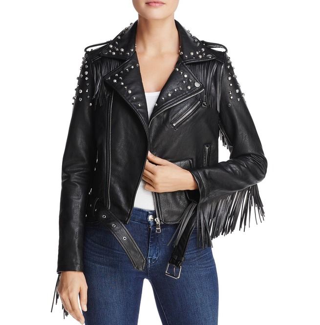 Women'motorcycle Leather Jacket Black Slim Fit Leather | RebelsMark