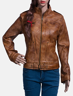 Distressed Leather Jackets For Women - Buy Women's Distressed .
