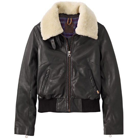 Women's Belknap Leather Jacket | Timberland US Sto