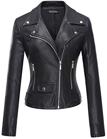 Black Leather Jackets for Women – ChoosMeinSty