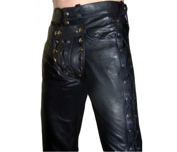 Leather Pants For Men | Wide array of Leather Pants availab