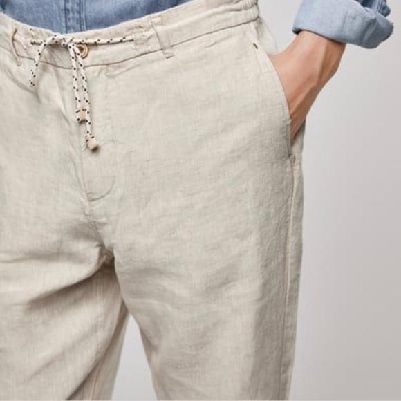 Zara Pants | Man Linen New With Tags | Poshma