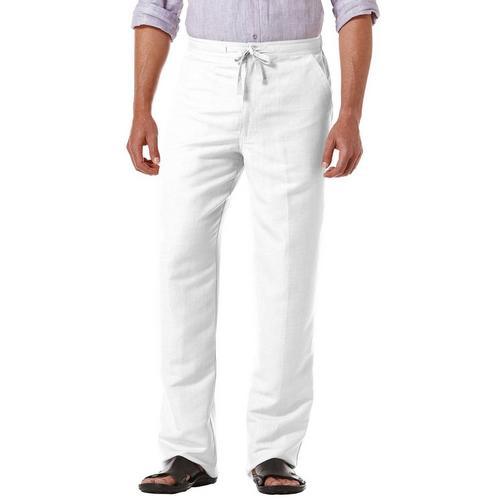 Cubavera Mens Linen Drawstring Pants | Bealls Flori